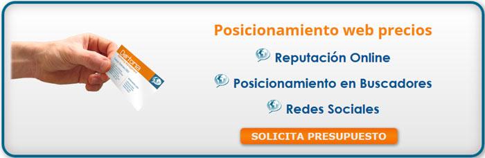 posicionamiento en buscadores, curso de posicionamiento web, como posicionar una pagina web gratis, servicio de posicionamiento web, precios posicionamiento web