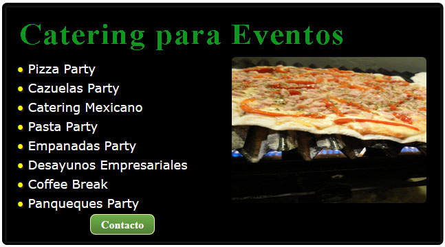 catering, catering zona norte, catering cumpleaños, oeste catering, alternativa catering, pizza catering for parties, pronto catering, pizza catering menu, catering mexicano,