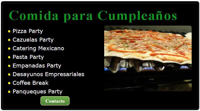 catering para cumpleaños, comida para un cumpleaños, comidas para cumpleaños adultos, pizza cumpleaños, pizza para cumpleaños, comida mexicana para fiestas de cumpleaños, cumpleaños infantiles comida,