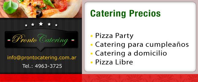 precios de pizzas, catering precios, servicios de catering precios, servicio de catering precios por persona, pizza party zona oeste precios, precio de catering para 100 personas,
