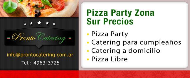 precios de pizzas, servicios de catering precios, servicio de catering precios por persona, catering zona sur, pizza party zona sur precios, pizza party en zona sur, servicio de lunch zona sur,