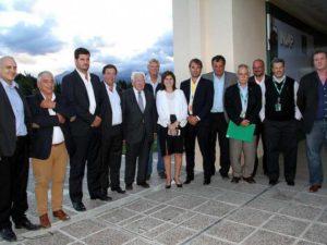 Juan Patricio Furlong dio sus palabras ante la inauguración de un nuevo centro en La Pampa