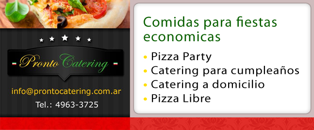 comidas para fiestas de cumpleaños de adultos, comidas para fiestas economicas, pizza party zona oeste, pizza party capital federal a domicilio,